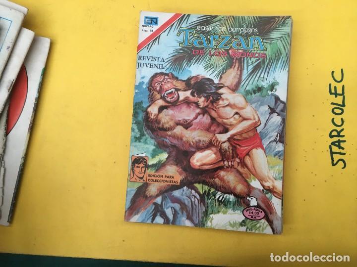 Tebeos: TARZAN DE LOS MONOS SERIE AGUILA NOVARO, 29 NUMEROS (VER DESCRIPCION) EDITORIAL NOVARO AÑO 1975-1978 - Foto 19 - 289810133
