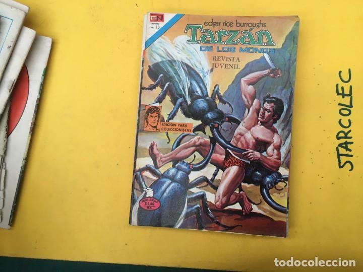 Tebeos: TARZAN DE LOS MONOS SERIE AGUILA NOVARO, 29 NUMEROS (VER DESCRIPCION) EDITORIAL NOVARO AÑO 1975-1978 - Foto 20 - 289810133