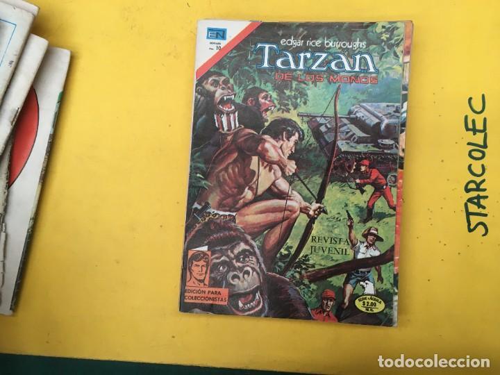 Tebeos: TARZAN DE LOS MONOS SERIE AGUILA NOVARO, 29 NUMEROS (VER DESCRIPCION) EDITORIAL NOVARO AÑO 1975-1978 - Foto 21 - 289810133