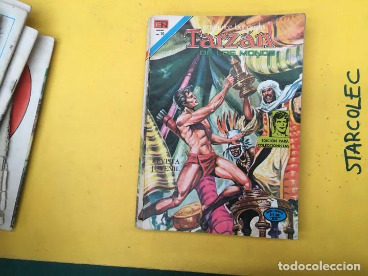 Tebeos: TARZAN DE LOS MONOS SERIE AGUILA NOVARO, 29 NUMEROS (VER DESCRIPCION) EDITORIAL NOVARO AÑO 1975-1978 - Foto 22 - 289810133