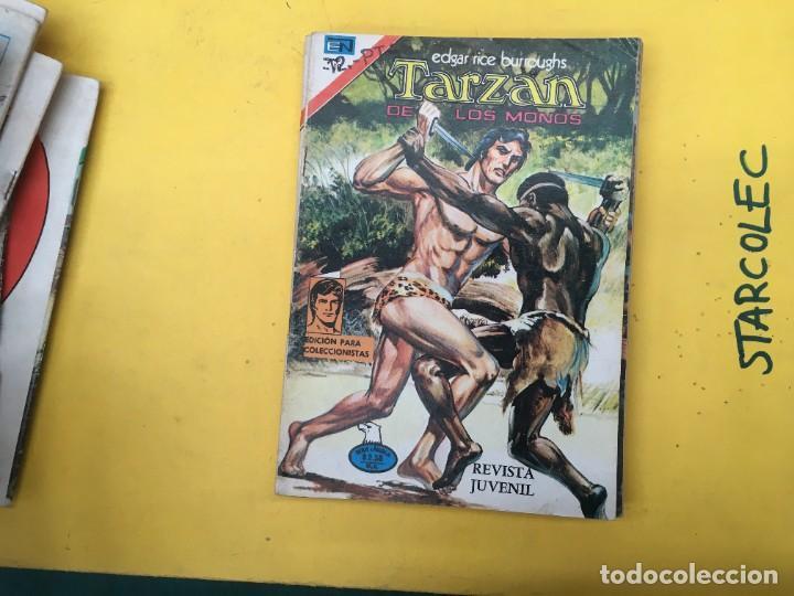Tebeos: TARZAN DE LOS MONOS SERIE AGUILA NOVARO, 29 NUMEROS (VER DESCRIPCION) EDITORIAL NOVARO AÑO 1975-1978 - Foto 23 - 289810133