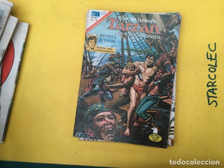 Tebeos: TARZAN DE LOS MONOS SERIE AGUILA NOVARO, 29 NUMEROS (VER DESCRIPCION) EDITORIAL NOVARO AÑO 1975-1978 - Foto 24 - 289810133