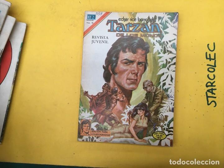 Tebeos: TARZAN DE LOS MONOS SERIE AGUILA NOVARO, 29 NUMEROS (VER DESCRIPCION) EDITORIAL NOVARO AÑO 1975-1978 - Foto 25 - 289810133