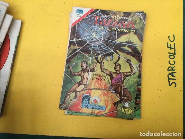Tebeos: TARZAN DE LOS MONOS SERIE AGUILA NOVARO, 29 NUMEROS (VER DESCRIPCION) EDITORIAL NOVARO AÑO 1975-1978 - Foto 27 - 289810133