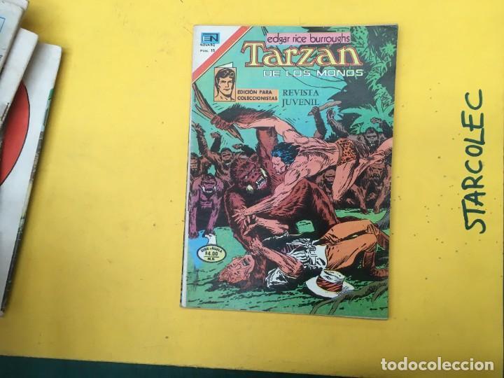 Tebeos: TARZAN DE LOS MONOS SERIE AGUILA NOVARO, 29 NUMEROS (VER DESCRIPCION) EDITORIAL NOVARO AÑO 1975-1978 - Foto 28 - 289810133