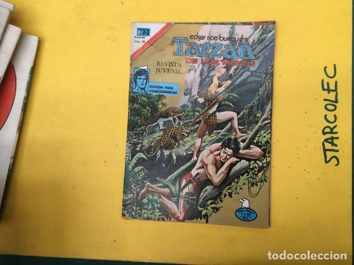Tebeos: TARZAN DE LOS MONOS SERIE AGUILA NOVARO, 29 NUMEROS (VER DESCRIPCION) EDITORIAL NOVARO AÑO 1975-1978 - Foto 29 - 289810133