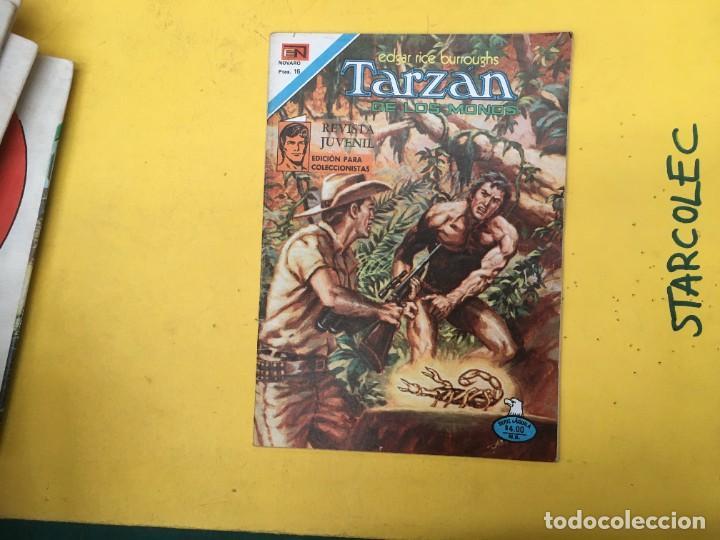 Tebeos: TARZAN DE LOS MONOS SERIE AGUILA NOVARO, 29 NUMEROS (VER DESCRIPCION) EDITORIAL NOVARO AÑO 1975-1978 - Foto 30 - 289810133