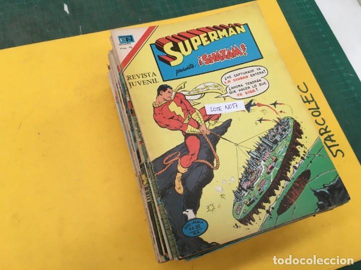 SUPERMAN SERIE AGUILA NOVARO, 38 NUMEROS (VER DESCRIPCION) EDITORIAL NOVARO AÑO 1975-1979 (Tebeos y Comics - Novaro - Superman)