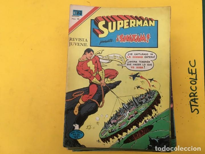Tebeos: SUPERMAN SERIE AGUILA NOVARO, 38 NUMEROS (VER DESCRIPCION) EDITORIAL NOVARO AÑO 1975-1979 - Foto 2 - 289813968
