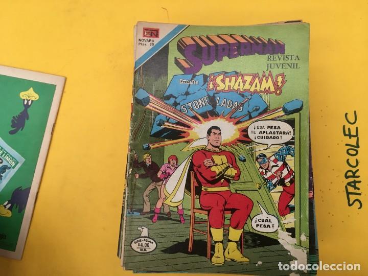 Tebeos: SUPERMAN SERIE AGUILA NOVARO, 38 NUMEROS (VER DESCRIPCION) EDITORIAL NOVARO AÑO 1975-1979 - Foto 3 - 289813968