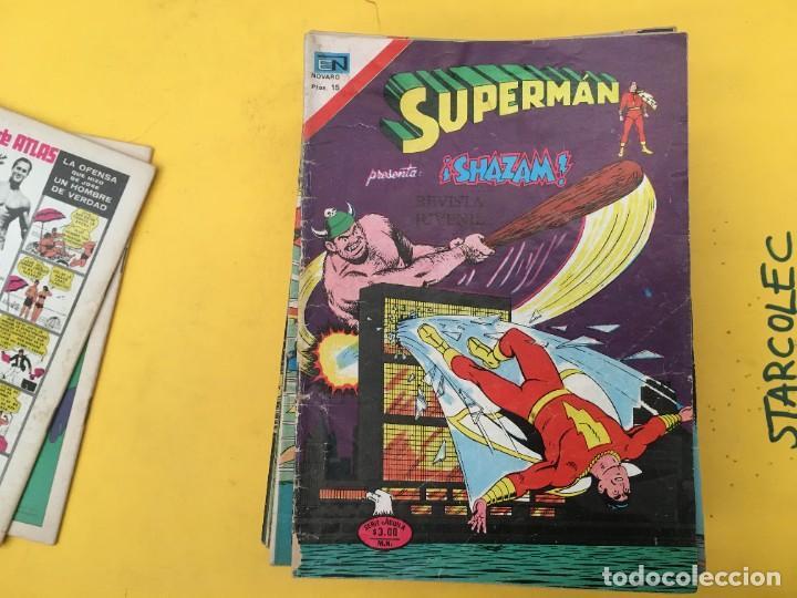 Tebeos: SUPERMAN SERIE AGUILA NOVARO, 38 NUMEROS (VER DESCRIPCION) EDITORIAL NOVARO AÑO 1975-1979 - Foto 4 - 289813968