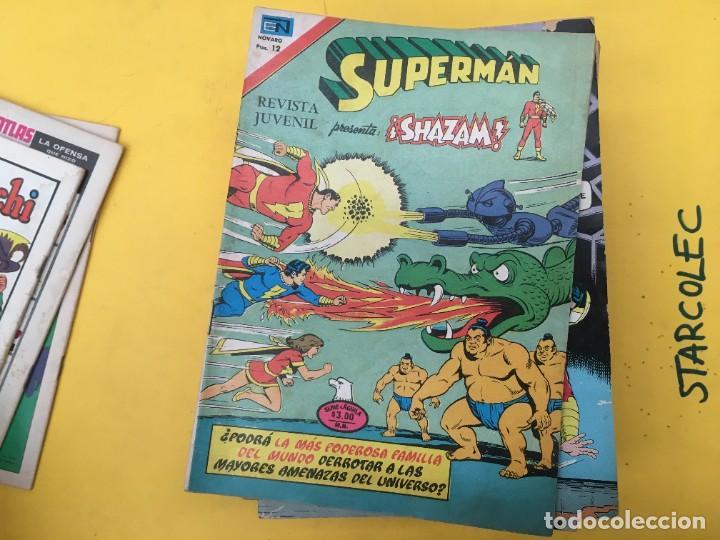 Tebeos: SUPERMAN SERIE AGUILA NOVARO, 38 NUMEROS (VER DESCRIPCION) EDITORIAL NOVARO AÑO 1975-1979 - Foto 5 - 289813968
