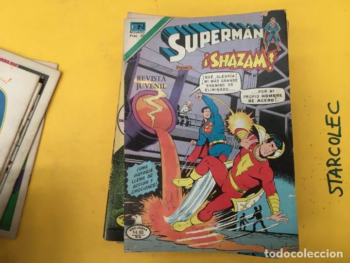 Tebeos: SUPERMAN SERIE AGUILA NOVARO, 38 NUMEROS (VER DESCRIPCION) EDITORIAL NOVARO AÑO 1975-1979 - Foto 6 - 289813968