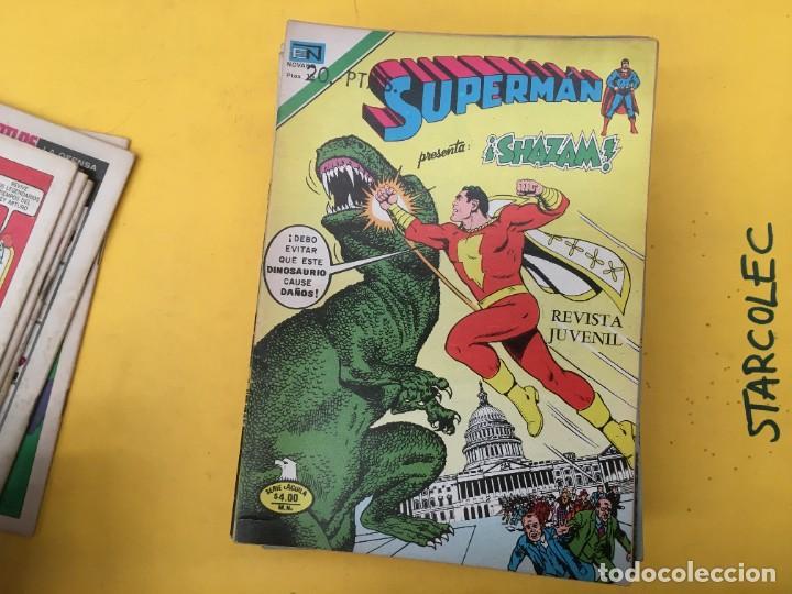 Tebeos: SUPERMAN SERIE AGUILA NOVARO, 38 NUMEROS (VER DESCRIPCION) EDITORIAL NOVARO AÑO 1975-1979 - Foto 7 - 289813968