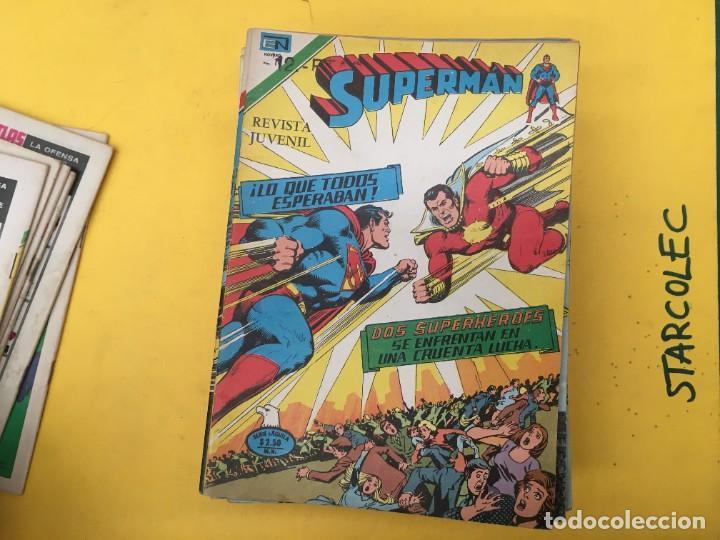 Tebeos: SUPERMAN SERIE AGUILA NOVARO, 38 NUMEROS (VER DESCRIPCION) EDITORIAL NOVARO AÑO 1975-1979 - Foto 8 - 289813968