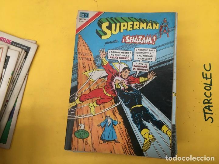 Tebeos: SUPERMAN SERIE AGUILA NOVARO, 38 NUMEROS (VER DESCRIPCION) EDITORIAL NOVARO AÑO 1975-1979 - Foto 9 - 289813968