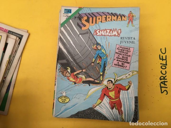 Tebeos: SUPERMAN SERIE AGUILA NOVARO, 38 NUMEROS (VER DESCRIPCION) EDITORIAL NOVARO AÑO 1975-1979 - Foto 10 - 289813968