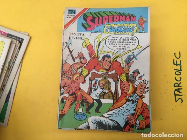 Tebeos: SUPERMAN SERIE AGUILA NOVARO, 38 NUMEROS (VER DESCRIPCION) EDITORIAL NOVARO AÑO 1975-1979 - Foto 11 - 289813968