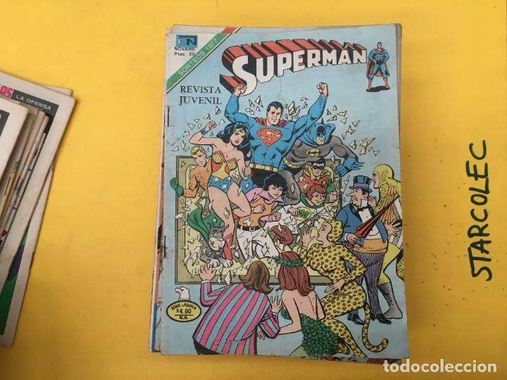 Tebeos: SUPERMAN SERIE AGUILA NOVARO, 38 NUMEROS (VER DESCRIPCION) EDITORIAL NOVARO AÑO 1975-1979 - Foto 12 - 289813968