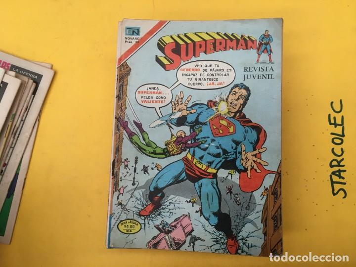 Tebeos: SUPERMAN SERIE AGUILA NOVARO, 38 NUMEROS (VER DESCRIPCION) EDITORIAL NOVARO AÑO 1975-1979 - Foto 13 - 289813968