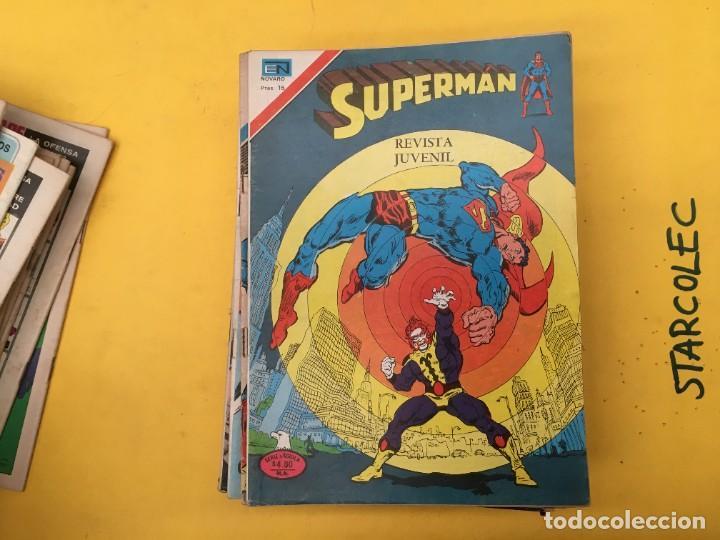 Tebeos: SUPERMAN SERIE AGUILA NOVARO, 38 NUMEROS (VER DESCRIPCION) EDITORIAL NOVARO AÑO 1975-1979 - Foto 15 - 289813968