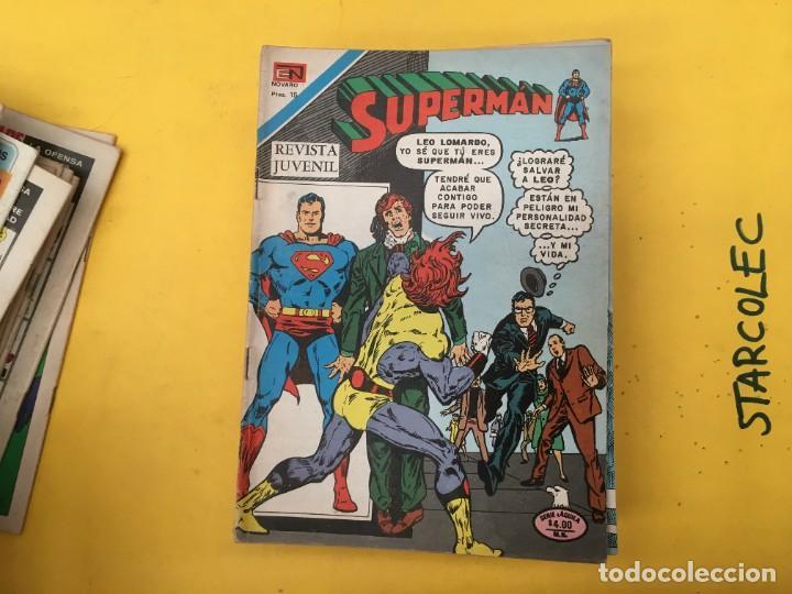 Tebeos: SUPERMAN SERIE AGUILA NOVARO, 38 NUMEROS (VER DESCRIPCION) EDITORIAL NOVARO AÑO 1975-1979 - Foto 16 - 289813968