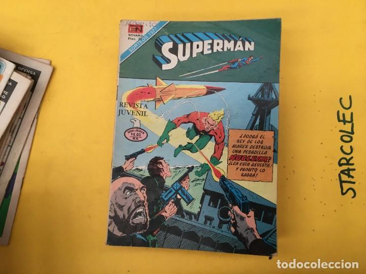 Tebeos: SUPERMAN SERIE AGUILA NOVARO, 38 NUMEROS (VER DESCRIPCION) EDITORIAL NOVARO AÑO 1975-1979 - Foto 18 - 289813968