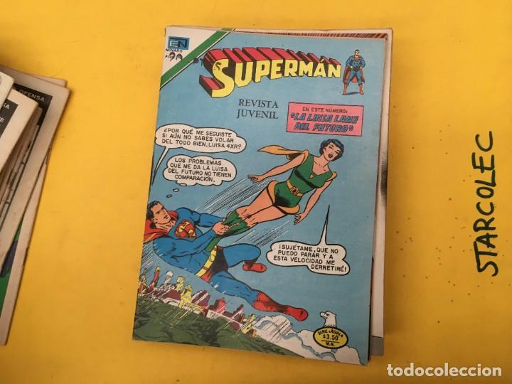 Tebeos: SUPERMAN SERIE AGUILA NOVARO, 38 NUMEROS (VER DESCRIPCION) EDITORIAL NOVARO AÑO 1975-1979 - Foto 20 - 289813968