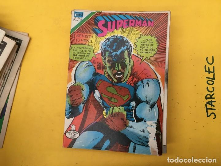 Tebeos: SUPERMAN SERIE AGUILA NOVARO, 38 NUMEROS (VER DESCRIPCION) EDITORIAL NOVARO AÑO 1975-1979 - Foto 21 - 289813968
