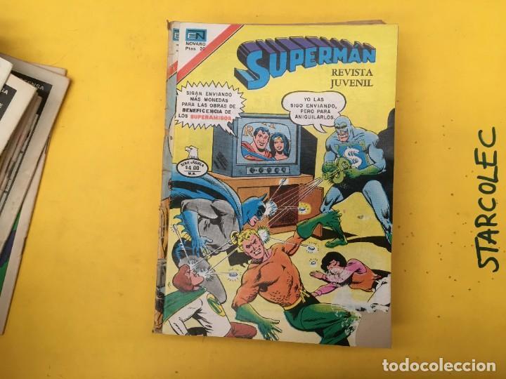 Tebeos: SUPERMAN SERIE AGUILA NOVARO, 38 NUMEROS (VER DESCRIPCION) EDITORIAL NOVARO AÑO 1975-1979 - Foto 23 - 289813968