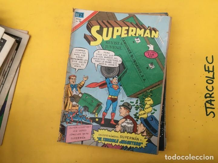 Tebeos: SUPERMAN SERIE AGUILA NOVARO, 38 NUMEROS (VER DESCRIPCION) EDITORIAL NOVARO AÑO 1975-1979 - Foto 24 - 289813968