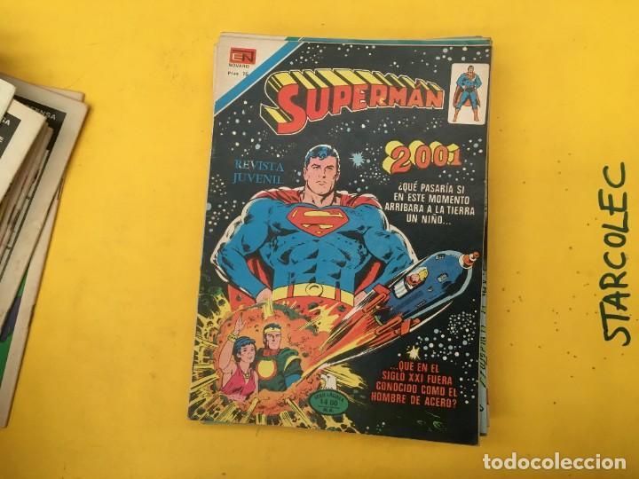 Tebeos: SUPERMAN SERIE AGUILA NOVARO, 38 NUMEROS (VER DESCRIPCION) EDITORIAL NOVARO AÑO 1975-1979 - Foto 25 - 289813968