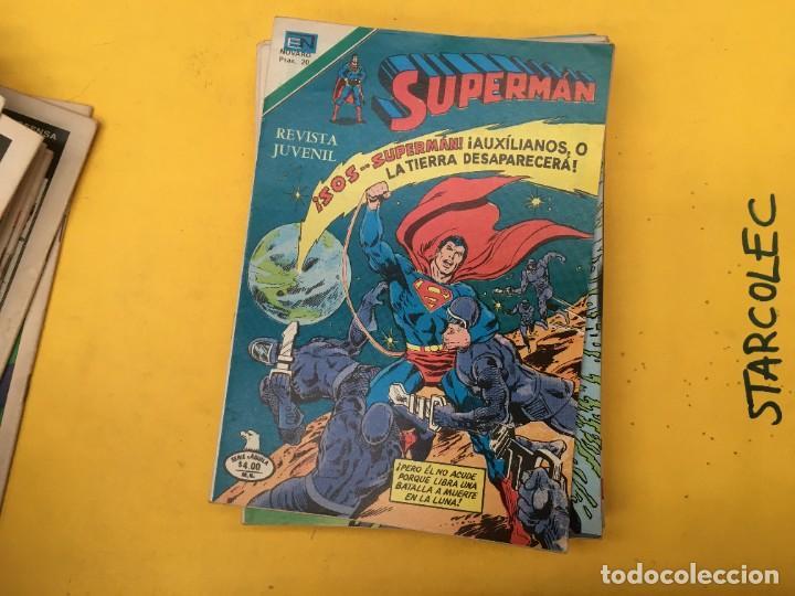 Tebeos: SUPERMAN SERIE AGUILA NOVARO, 38 NUMEROS (VER DESCRIPCION) EDITORIAL NOVARO AÑO 1975-1979 - Foto 26 - 289813968