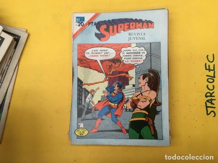 Tebeos: SUPERMAN SERIE AGUILA NOVARO, 38 NUMEROS (VER DESCRIPCION) EDITORIAL NOVARO AÑO 1975-1979 - Foto 28 - 289813968