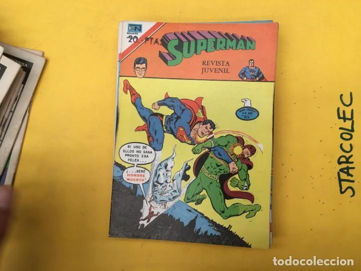 Tebeos: SUPERMAN SERIE AGUILA NOVARO, 38 NUMEROS (VER DESCRIPCION) EDITORIAL NOVARO AÑO 1975-1979 - Foto 29 - 289813968