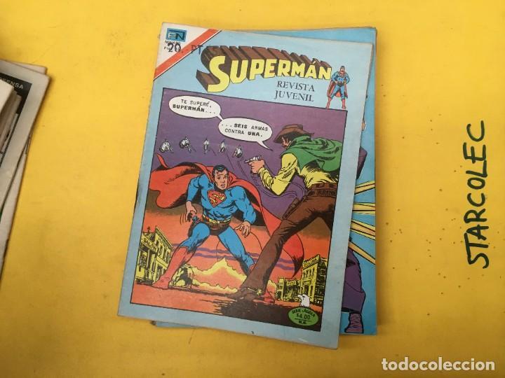 Tebeos: SUPERMAN SERIE AGUILA NOVARO, 38 NUMEROS (VER DESCRIPCION) EDITORIAL NOVARO AÑO 1975-1979 - Foto 32 - 289813968