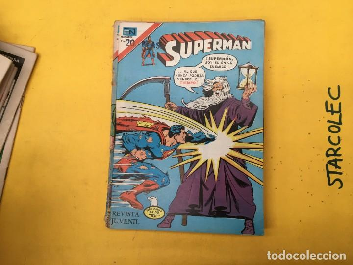 Tebeos: SUPERMAN SERIE AGUILA NOVARO, 38 NUMEROS (VER DESCRIPCION) EDITORIAL NOVARO AÑO 1975-1979 - Foto 33 - 289813968