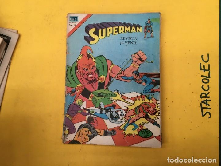 Tebeos: SUPERMAN SERIE AGUILA NOVARO, 38 NUMEROS (VER DESCRIPCION) EDITORIAL NOVARO AÑO 1975-1979 - Foto 34 - 289813968