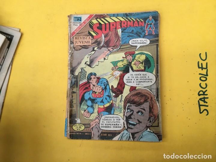 Tebeos: SUPERMAN SERIE AGUILA NOVARO, 38 NUMEROS (VER DESCRIPCION) EDITORIAL NOVARO AÑO 1975-1979 - Foto 35 - 289813968