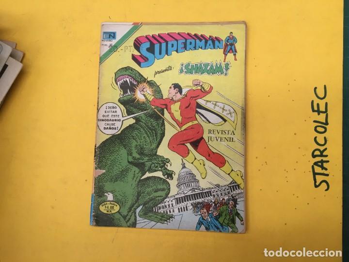 Tebeos: SUPERMAN SERIE AGUILA NOVARO, 38 NUMEROS (VER DESCRIPCION) EDITORIAL NOVARO AÑO 1975-1979 - Foto 38 - 289813968