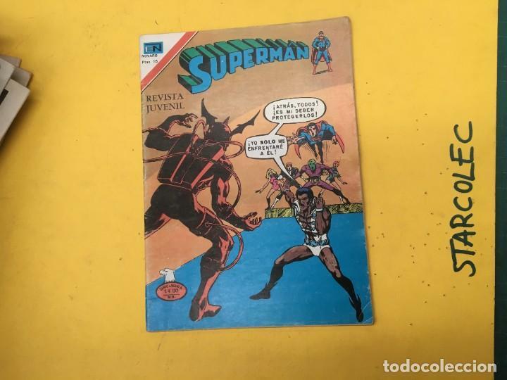 Tebeos: SUPERMAN SERIE AGUILA NOVARO, 38 NUMEROS (VER DESCRIPCION) EDITORIAL NOVARO AÑO 1975-1979 - Foto 39 - 289813968