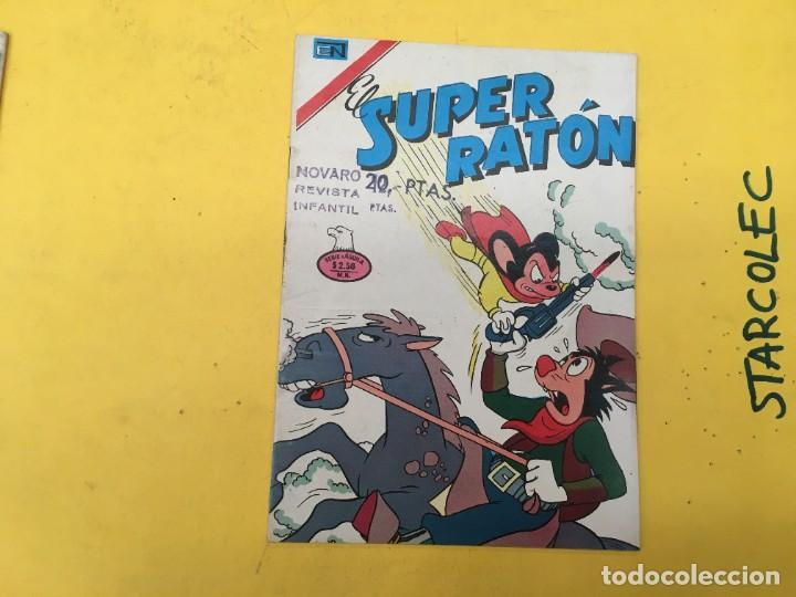 Tebeos: EL SUPER RATON SERIE AGUILA NOVARO, 3 NUMEROS (VER DESCRIPCION) E. NOVARO AÑO 1976-1977 - Foto 4 - 290016678
