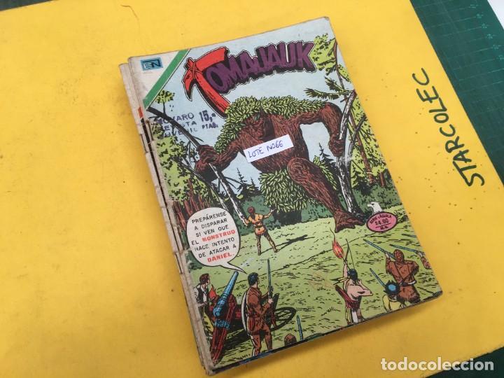 TOMAJAUK SERIE AGUILA NOVARO, 11 NUMEROS (VER DESCRIPCION) E. NOVARO AÑO 1975-1979 (Tebeos y Comics - Novaro - Otros)