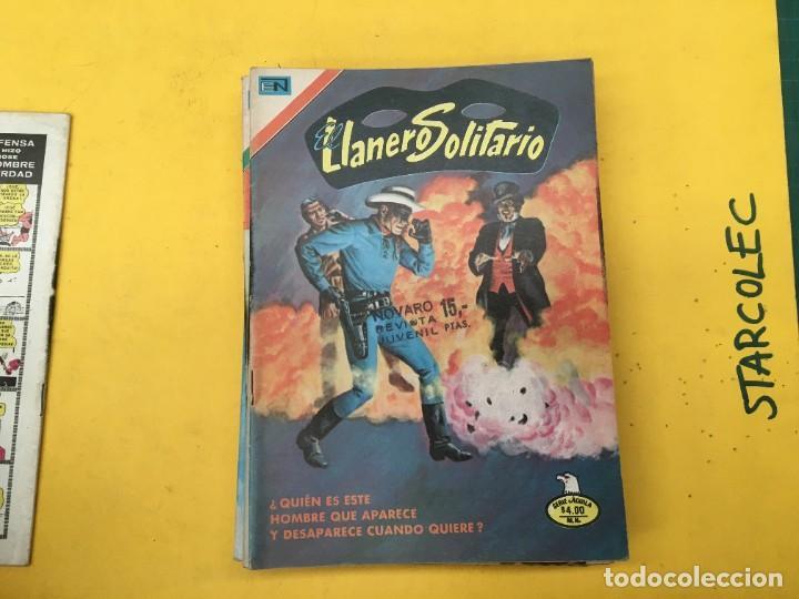 Tebeos: EL LLANERO SOLITARIO SERIE AGUILA NOVARO, 15 NUMEROS (VER DESCRIPCION) E. NOVARO AÑO 1976-1979 - Foto 3 - 290024878