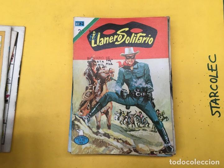 Tebeos: EL LLANERO SOLITARIO SERIE AGUILA NOVARO, 15 NUMEROS (VER DESCRIPCION) E. NOVARO AÑO 1976-1979 - Foto 5 - 290024878