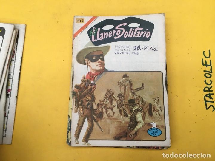 Tebeos: EL LLANERO SOLITARIO SERIE AGUILA NOVARO, 15 NUMEROS (VER DESCRIPCION) E. NOVARO AÑO 1976-1979 - Foto 7 - 290024878