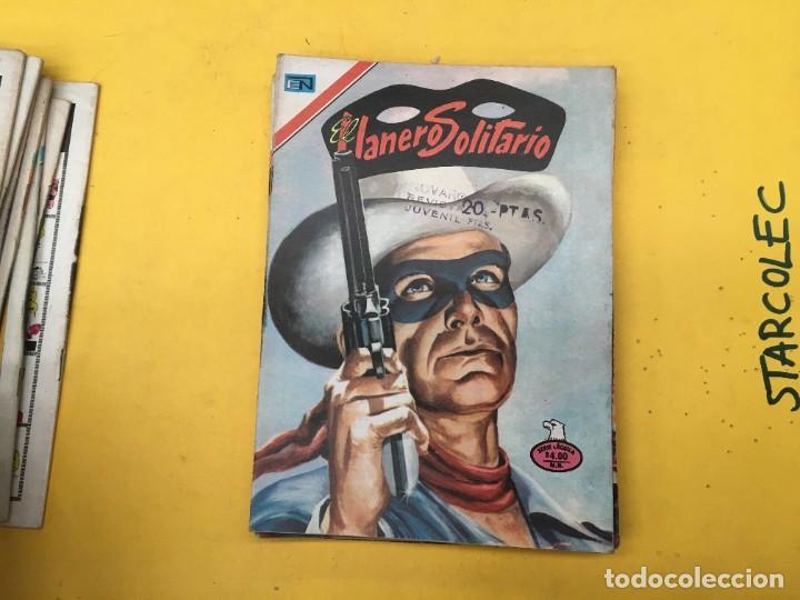 Tebeos: EL LLANERO SOLITARIO SERIE AGUILA NOVARO, 15 NUMEROS (VER DESCRIPCION) E. NOVARO AÑO 1976-1979 - Foto 10 - 290024878