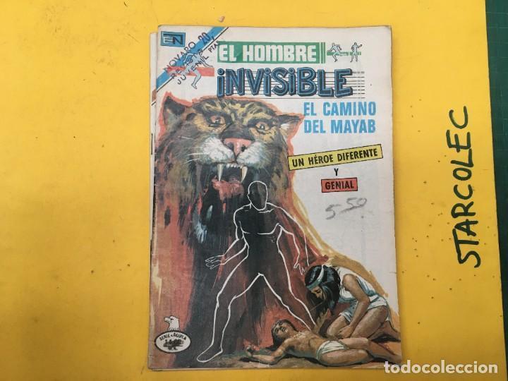 Tebeos: EL HOMBRE INVISIBLE SERIE AGUILA NOVARO, 14 NUMEROS (VER DESCRIPCION) E. NOVARO AÑO 1979-1979 - Foto 3 - 290025463
