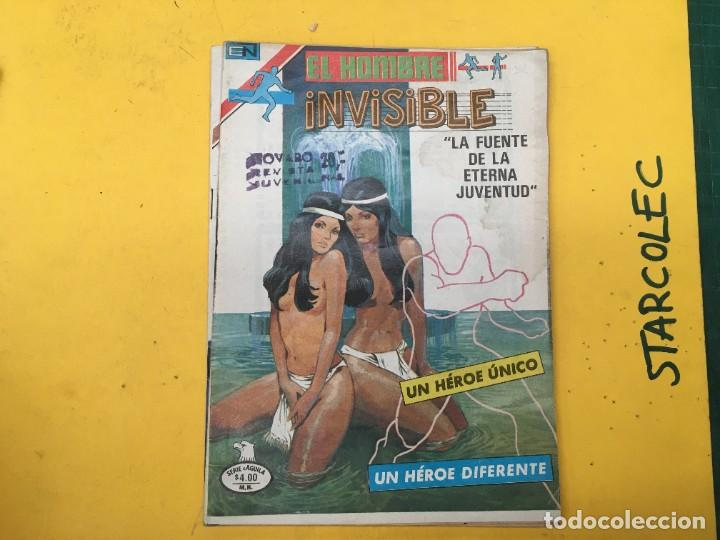 Tebeos: EL HOMBRE INVISIBLE SERIE AGUILA NOVARO, 14 NUMEROS (VER DESCRIPCION) E. NOVARO AÑO 1979-1979 - Foto 4 - 290025463