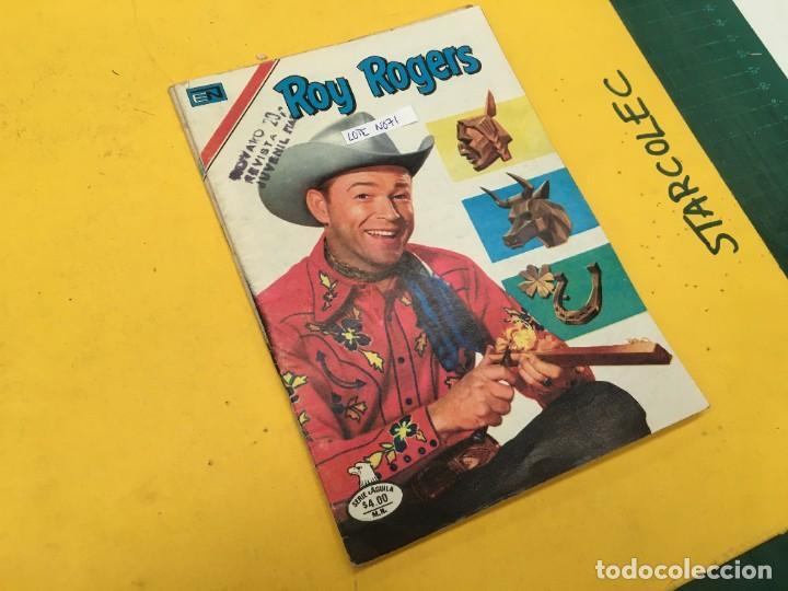ROY ROGERS SERIE AGUILA NOVARO, 2 NUMEROS (VER DESCRIPCION) E. NOVARO AÑO 1977-1979 (Tebeos y Comics - Novaro - Roy Roger)
